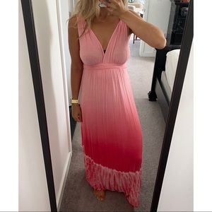 Gypsy 05 Tie Dye Boho Sleeveless Maxi Dress